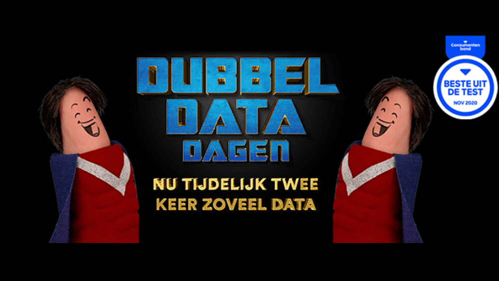 Blog Simpel heeft de Dubbel Data Dagen verlengd tot eind mei